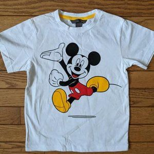 H&M Disney Mickey Mouse Front Back Top